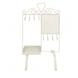 Love Heart Jewellery Holder (Ivory)