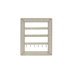 Flora Wall Jewellery Holder (Gold)