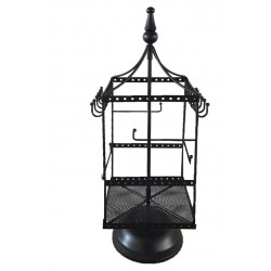 Spinning Jewellery Holder (Black)