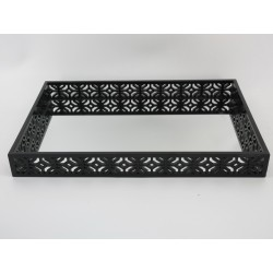 Black Wooden Tray (L)