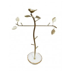 Bird & Branch Jewellery Holder (White)