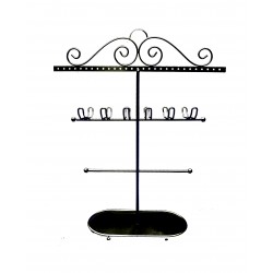 Victorian Jewellery Holder (Black)