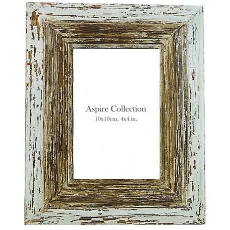Wash White Wooden Frame (4X6)