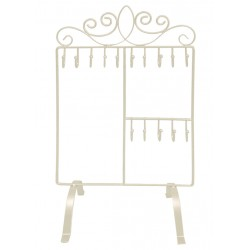 Chic Jewellery Holder (White)