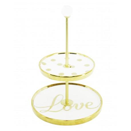 Love Ceramic Jewellery Holder