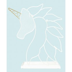 White Unicorn Jewellery Holder