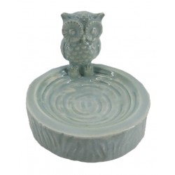 Owl Ring Holder (Green)