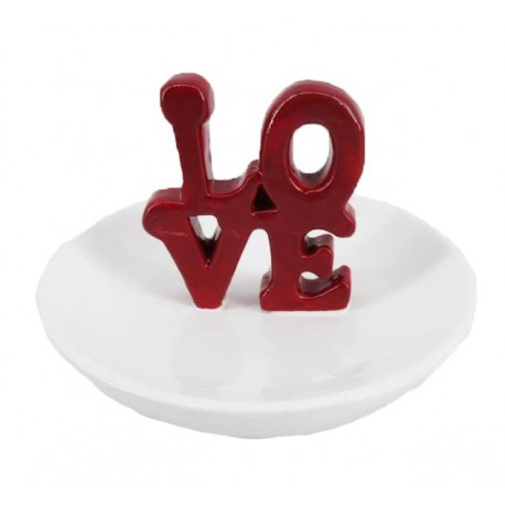 Love Ring Holder (Red)