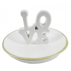 Love Ring Holder (White)