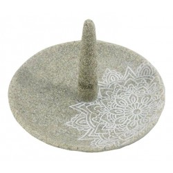 Sandstone Ring Holder (Flat & Dark)