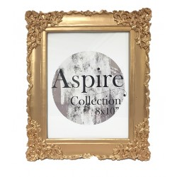 Ornate Photo Frame Rose Gold (8x10)