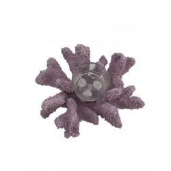 Coral Candle Holder (Purple)