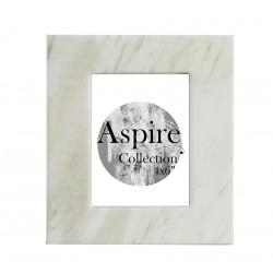 White Marble Photo Frame (4x6)