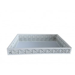 White Wooden Tray(S)