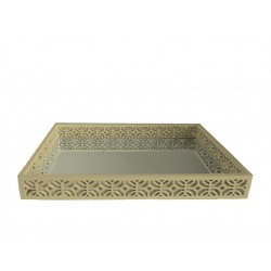 Champagn Wooden Tray(L)