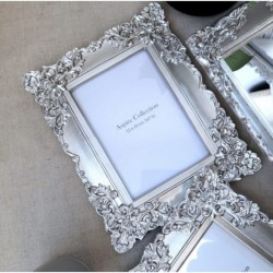 Ornate Photo Frame Silver (5x7)