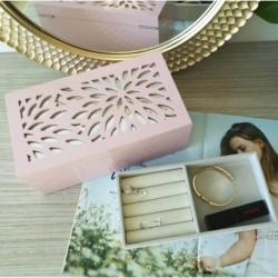 Flower Pink Jewellery Box