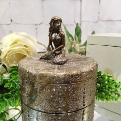 Mermaid Box (Bronze)