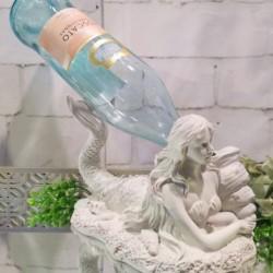 Mermaid Wine Holder (Ivory)